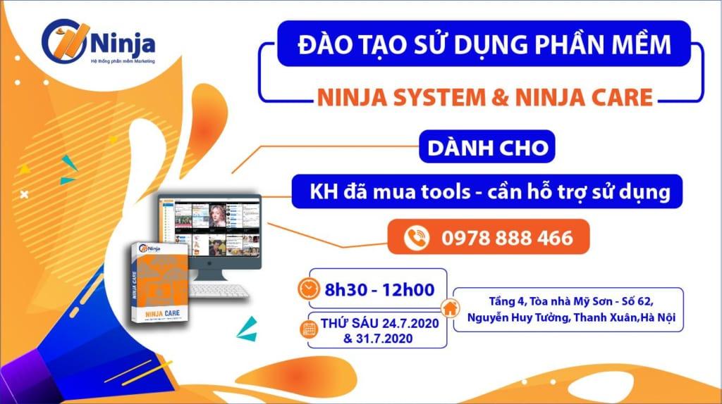 anh chung 1024x574 Đào tạo kỹ năng khai thác, sử dụng phần mềm System và Ninja Care hiệu quả
