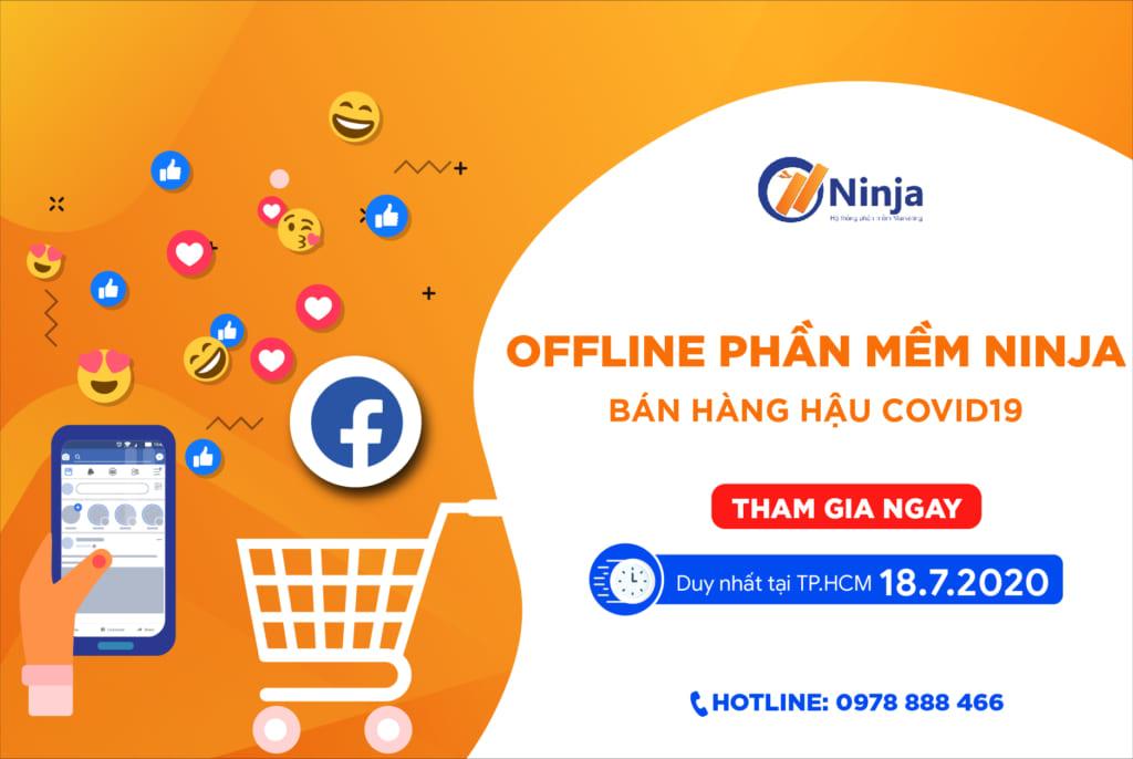 banner offline ads face 01 1024x686 Bạn nhận được gì khi tham gia offline Ninja tháng 7.2020
