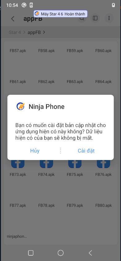 cai dat ninja phone Hướng dẫn cài đặt phần mềm Ninja Phone trên điện thoại Vinsmart