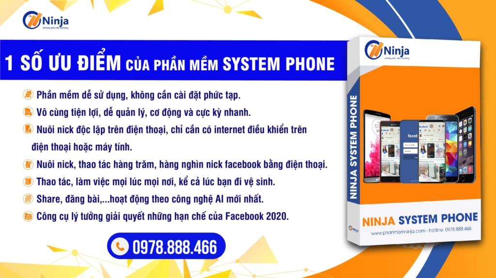 phone 1024x575 Ninja Phone   giải pháp chăm sóc nick Facebook chuyên nghiệp, hiệu quả thời 4.0