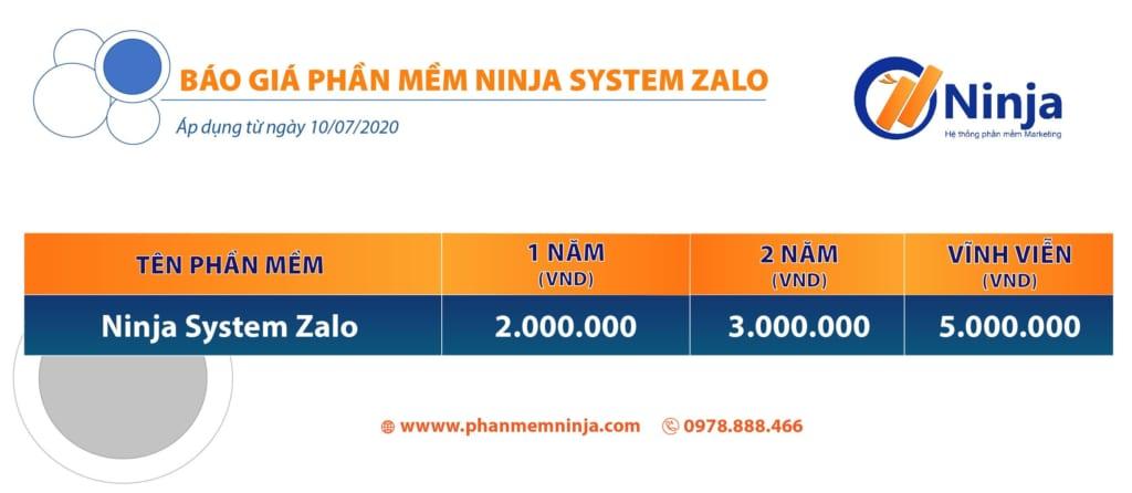 system zalo 1 1024x446 Ninja System Zalo   Phần mềm nuôi tài khoản Zalo số lượng lớn