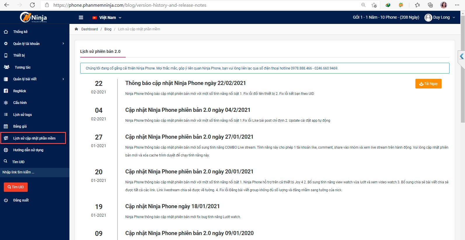 tai ninja phone Hướng dẫn cài đặt phần mềm Ninja Phone trên điện thoại Vinsmart
