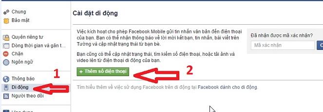 xac minh b2 Hướng dẫn 2 cách xác minh tài khoản Facebook qua điện thoại