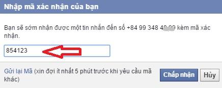 xac minh facebook Hướng dẫn 2 cách xác minh tài khoản Facebook qua điện thoại