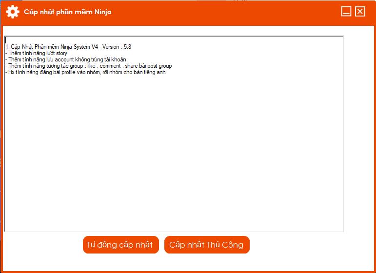 cap nhat ninja system v4 Cập nhật phần mềm Ninja System V4 với nhiều tính năng thông minh