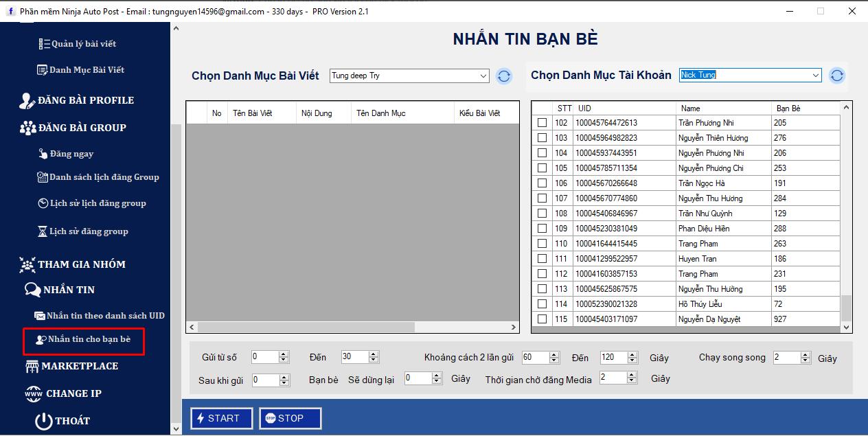 phan mem dang bai facebook tu dong3 1 Update version 2.1 của phần mềm đăng bài Facebook tự động phiên bản Client