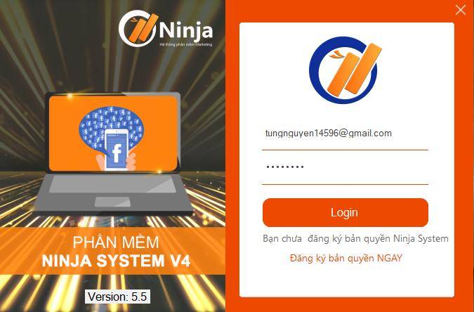 phan mem nuoi nick ninja system 2 Cập nhật Phần mềm nuôi nick Ninja System Version 5.5