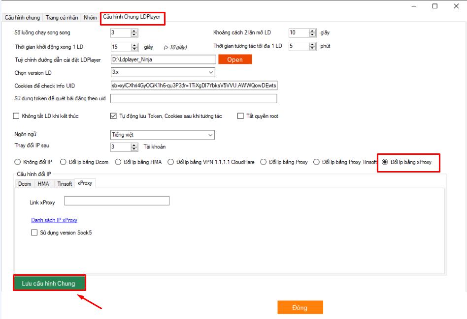 system 2jpg.jpg Update version 5.4 của phần mềm nuôi nick số lượng lớn Ninja