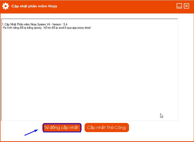 system 3jpg.jpg Update version 5.4 của phần mềm nuôi nick số lượng lớn Ninja
