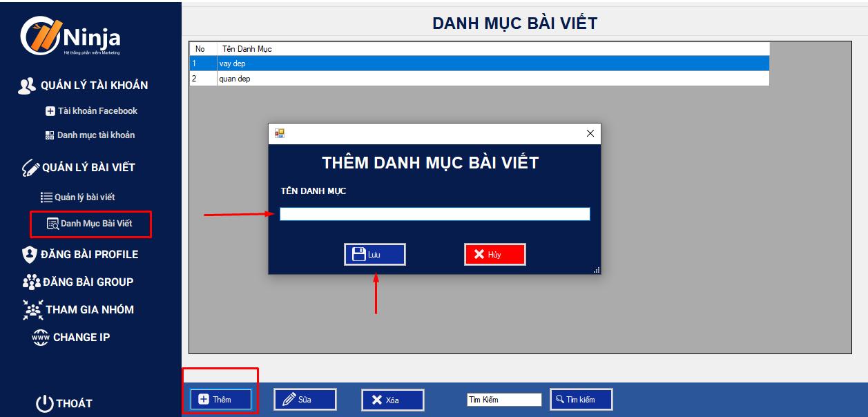 them danh muc bai viet 3 bước hướng dẫn thêm bài viết trên phần mềm đăng tin quảng cáo hàng loạt