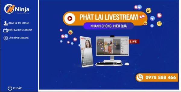 phan mem phat lai livestream e1626148339668 Top 7 phần mềm bán hàng online trên facebook tăng hiệu suất 200%