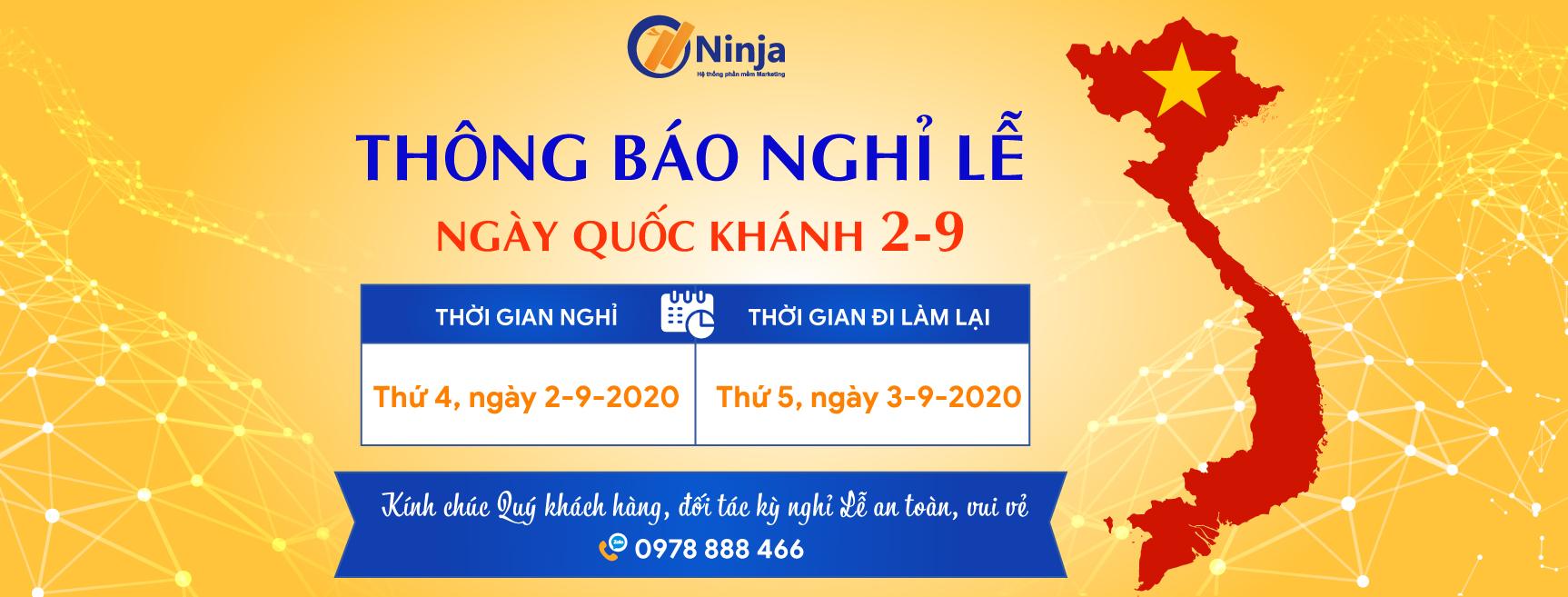 thông báo nghỉ lễ 2 9 cover 02 Phần mềm Ninja: Thông báo nghỉ Lễ Quốc Khánh 2.9.2020