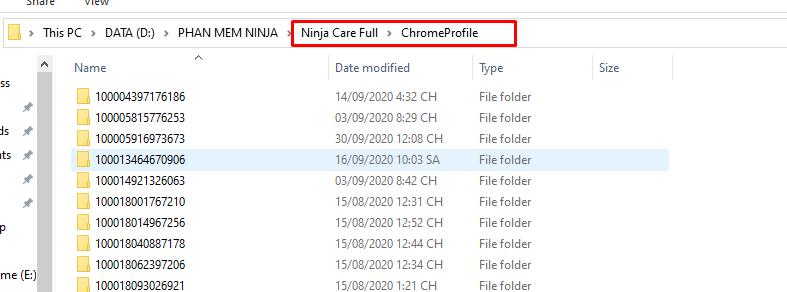 chuyen chrome profile sang may tinh khac 2 Hướng dẫn chuyển chrome Profile sang máy tính khác trên Ninja Care