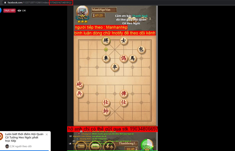 ninja stream lay noi dung comment1.jpg Ninja Stream hướng dẫn lấy nội dung comment của video Livestrem