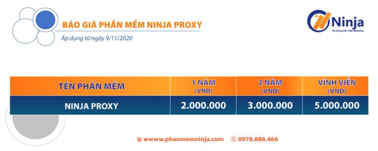 phan mem ninja proxy Update version 2.2 hệ thống đổi IP tự động hoàn toàn mới