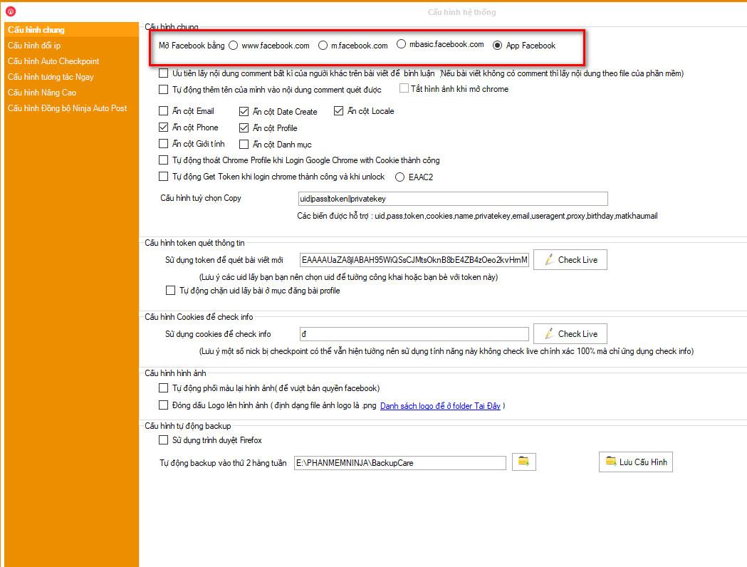 phan mem nuoi nick facebook 1 Phần mềm nuôi nick Facebook cập nhật phiên bản mới 17.9
