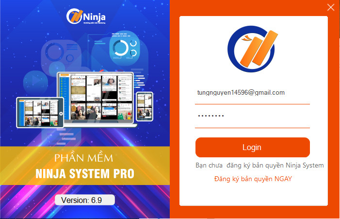 phan mem nuoi nick facebook2 Phần mềm Ninja System Pro cập nhật version 6.9 với nhiều tiện ích