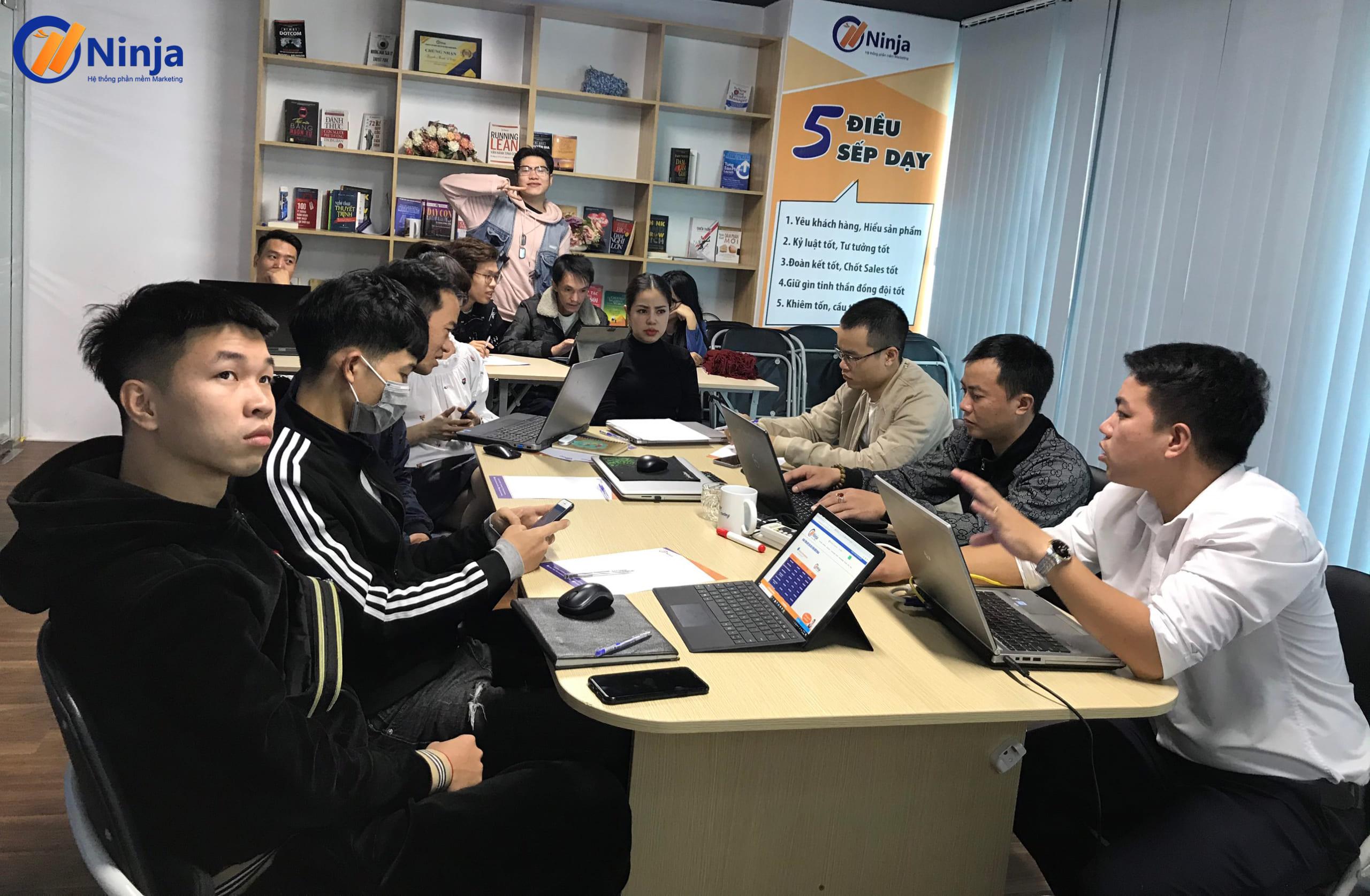 dao tao ban hang tet ninja 1 scaled Đào tạo Ninja: Kỹ năng sử dụng phần mềm Marketing bán hàng Tết