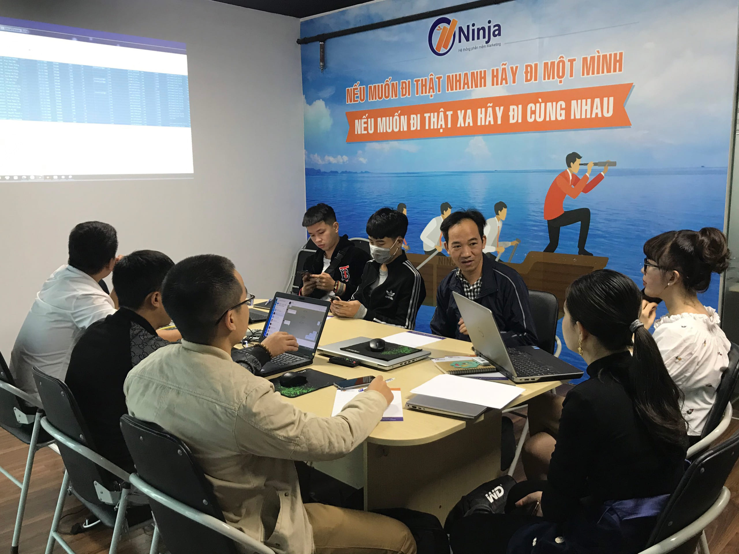 dao tao ban hang tet ninja3 scaled Đào tạo Ninja: Kỹ năng sử dụng phần mềm Marketing bán hàng Tết