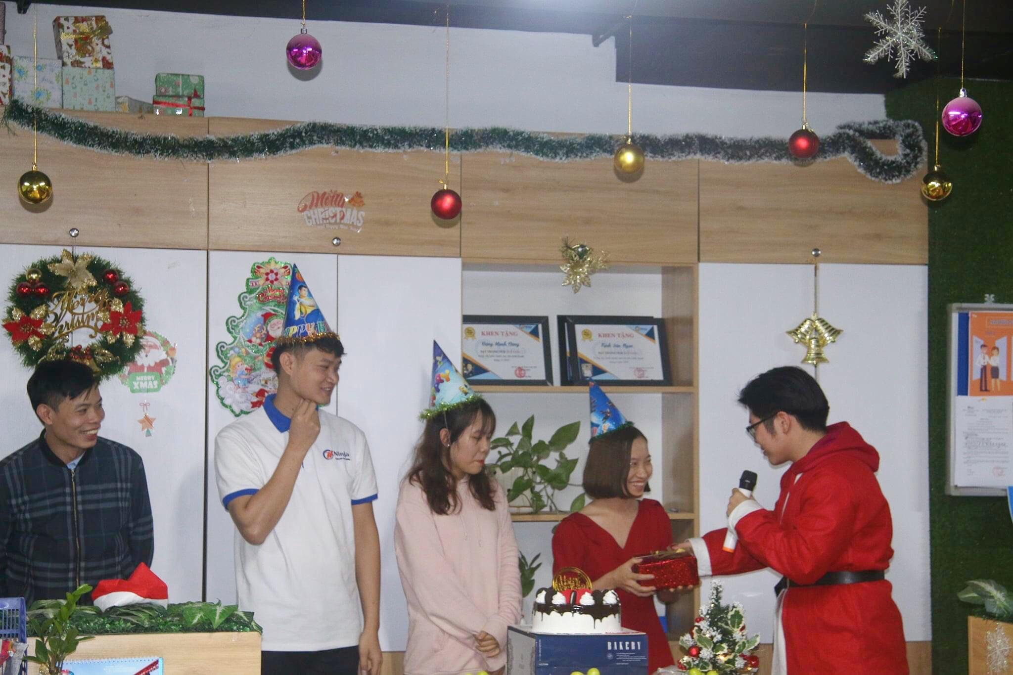 giang sinh ninja Tháng 12 ấm áp và nhiều niềm vui với đại tiệc cuối năm