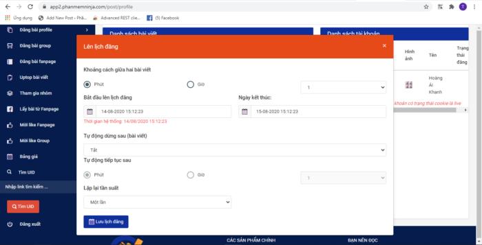 phan mem ninja auto post 2 e1610531001965 Kinh doanh hàng Tết thuận lợi khi sử dụng Phần mềm Ninja Auto Post