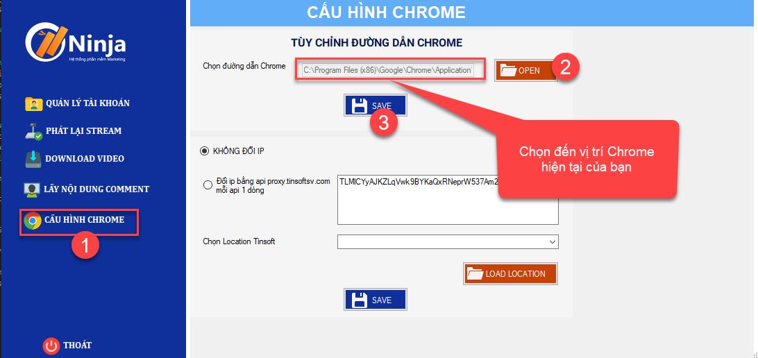 phan mem phat lai livestream Hướng dẫn cài đặt cấu hình Chrome trên phần mềm phát lại Livestream