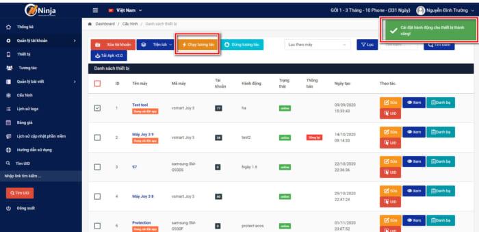 tool nuoi nick facebook e1610352709823 Hướng dẫn tương tác động với tool nuôi nick facebook Ninja Phone