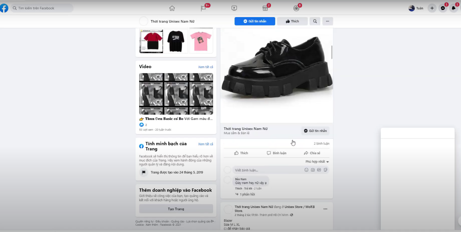 cach tim kiem fanpage facebook4 Cách tìm kiếm data fanpage trên phần mềm Ninja UID Pro