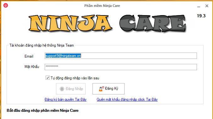 cap nhat ninja care1 Update version 19.3 của phần mềm nuôi nick Facebook tự động