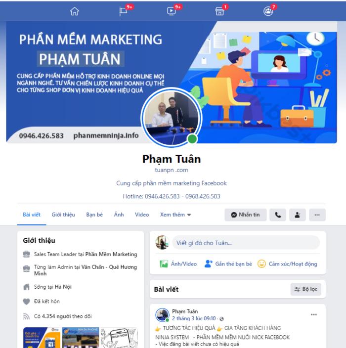 phan mem ban hang e1614848555153 Cách tăng tương tác Facebook và Phần mềm bán hàng thông minh