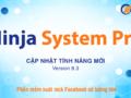 cập nhật phần mềm Ninja System Pro 8.3