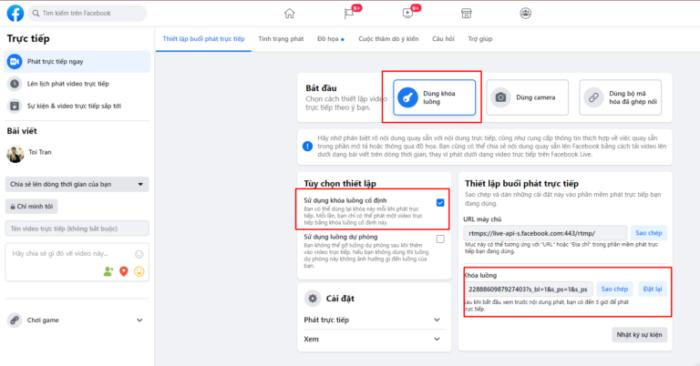 phat lai livestream tren facebook e1615436055767 Làm sao để phát lại Livestream trên facebook hiệu quả nhất