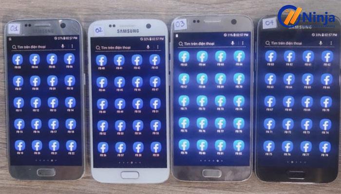 tool nuoi nick facebook hang loat 4 1 Công cụ nuôi nick điện thoại tối ưu chi phí Ninja phone Pro
