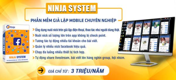 Ninja system slider e1623137893994 Bứt phá hiệu suất bán hàng với tool tạo nick facebook hàng loạt 2021