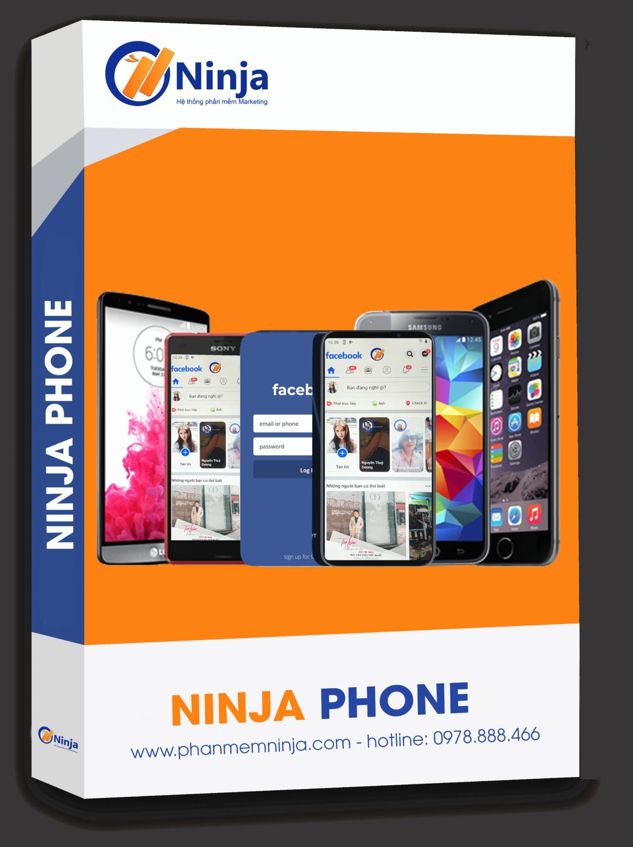 phan mem ninja phone