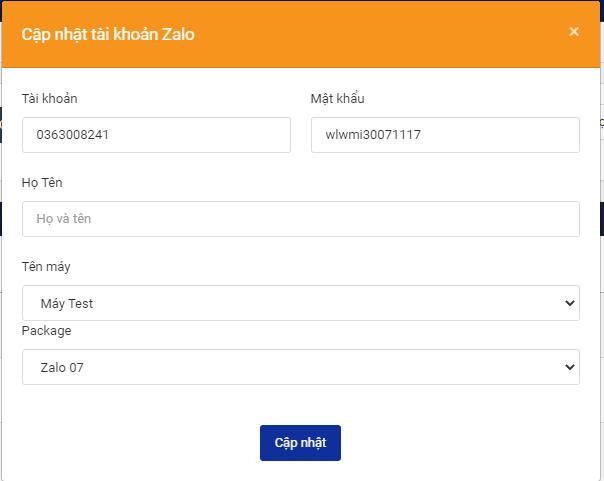 công cụ nuôi nick zalo điện thoại Hướng dẫn đăng nhập tài khoản trên công cụ nuôi nick zalo điện thoại