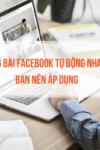 cách đăng bài facebook tự động hiệu quả