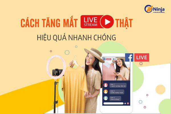 cach tang mat livestream that Cách tăng mắt livestream thật giúp X5 doanh số bán hàng