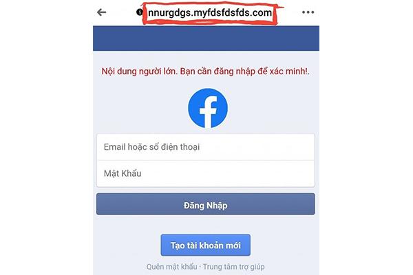 hack facebook Phần mềm Ninja cảnh báo lừa đảo chiếm đoạt tài khoản trên Facebook
