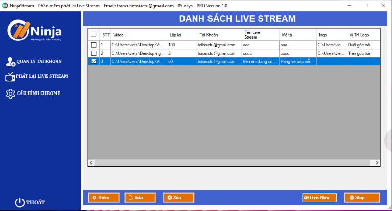 phần mềm phát lại Livestream Cách phát lại livestream trên Facebook tự động từ video có sẵn