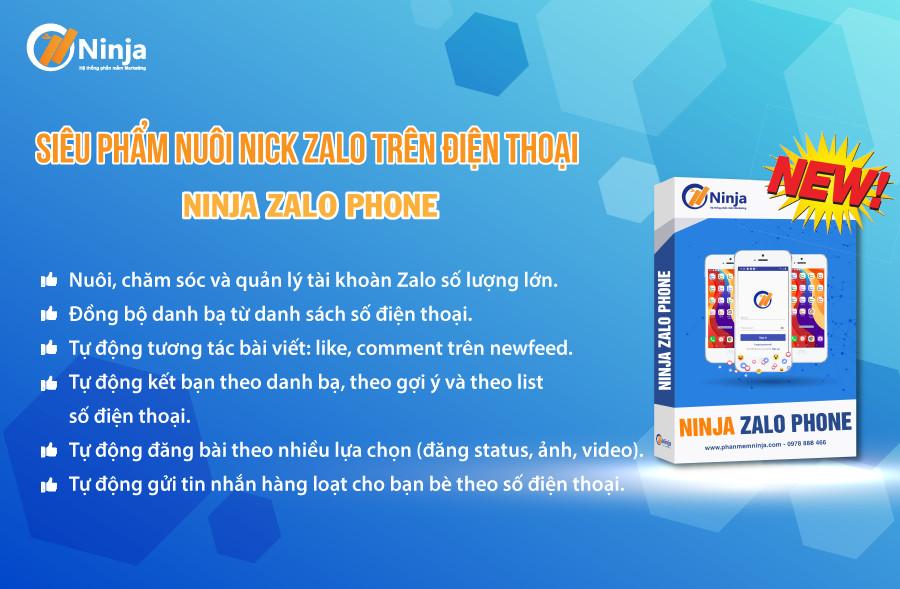 phan mem nuoi nick zalo tren phone Phần mềm quảng cáo Zalo, Zalo Marketing, Auto zalo số 1 Việt Nam