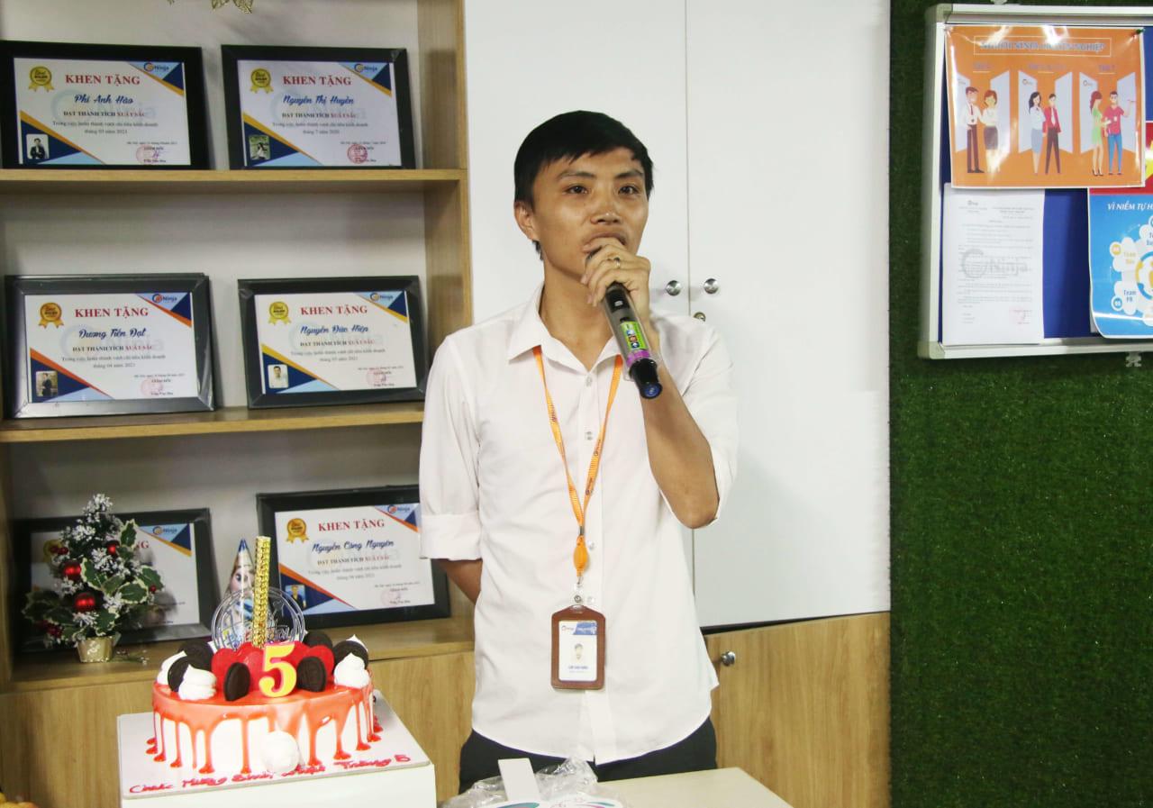 sinh nhật thành viên tháng 5.4 1 Chúc mừng sinh nhật thành viên tháng 5 tại Phần mềm Ninja