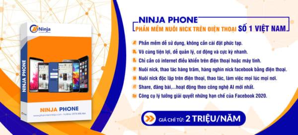 slider ninja phone e1623656996557 Bứt phá hiệu suất bán hàng với tool tạo nick facebook hàng loạt 2021