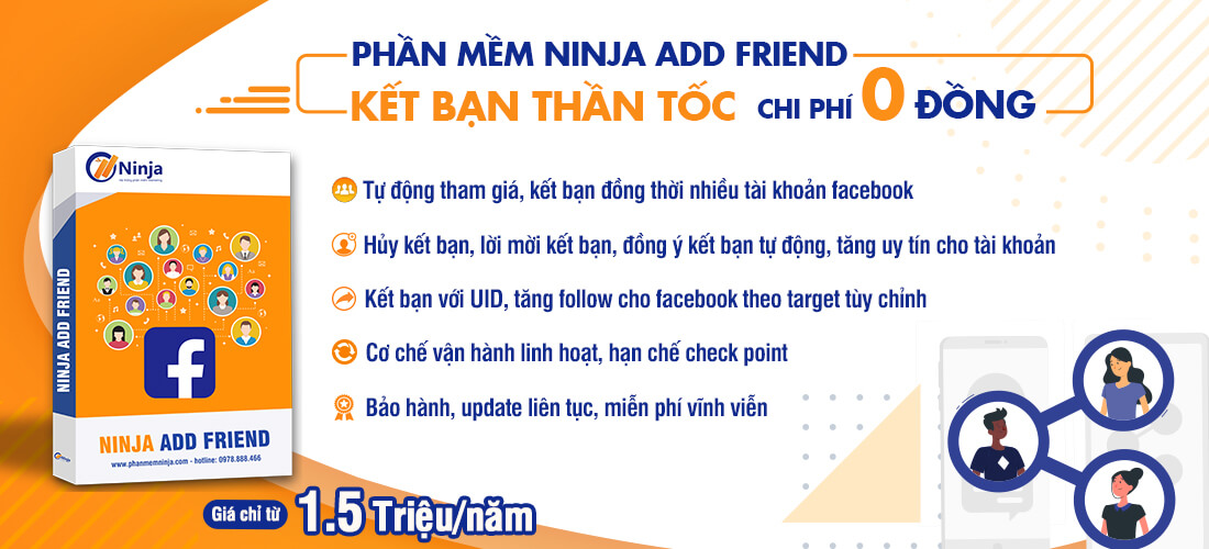 slider ninjaaddfriend Cách tăng bạn bè trên facebook đạt 5000 bạn nhanh nhất