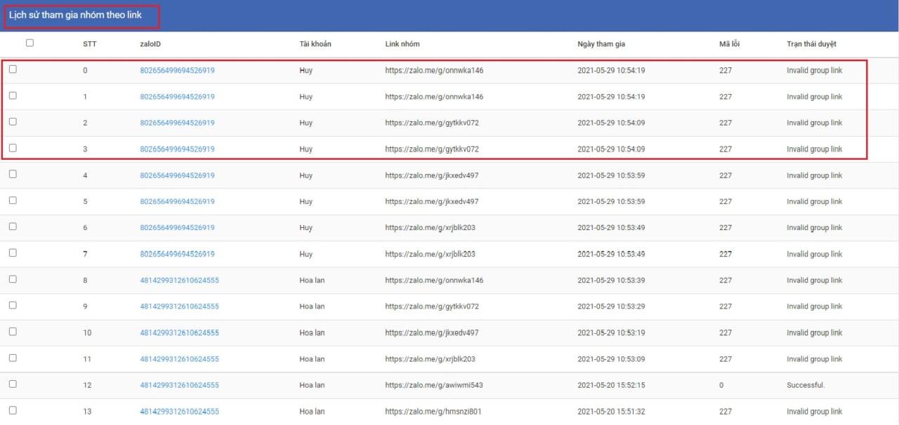 tham gia nhóm theo link zalo4 Cách tham gia nhóm theo link chia sẻ với phần mềm Ninja Zalo