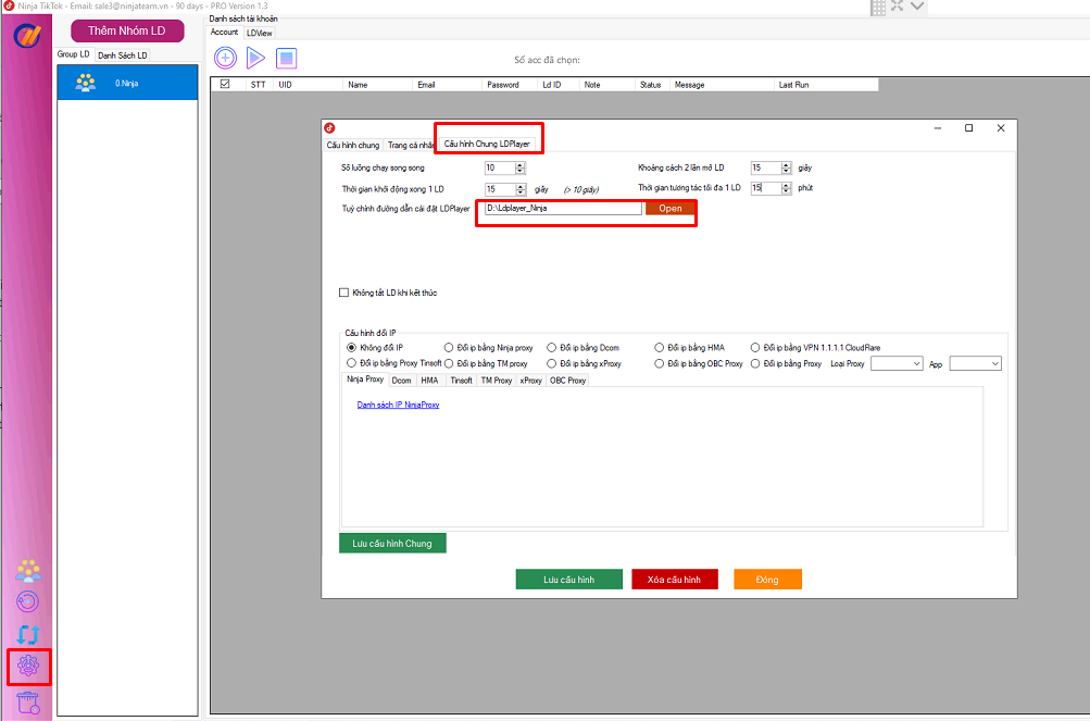 cài đặt cấu hình pm tiktok Hướng dẫn cài đặt phần mềm tương tác tiktok   Ninja tiktok
