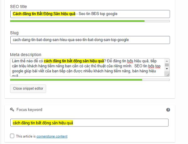 cach dang tin bdds hieu qua Cách đăng tin Bất Động Sản hiệu quả   Seo tin bất động sản top google