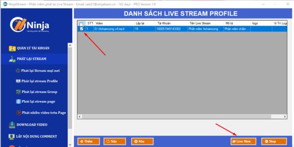 phat lai livestream tren profile ca nhan e1625029000609 Tăng follow nhanh chóng với cách phát lại livestream của người khác