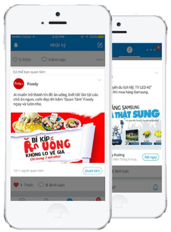 quang cao zalo 3 Tổng hợp các hình thức quảng cáo trên Zalo với chi phí cực thấp