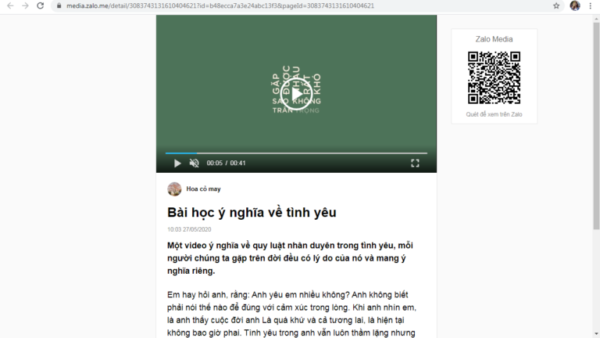 Cach dang bai trên zalo official account.8 e1626074115280 Cách đăng bài trên Zalo Official Account nhanh chóng, tự động